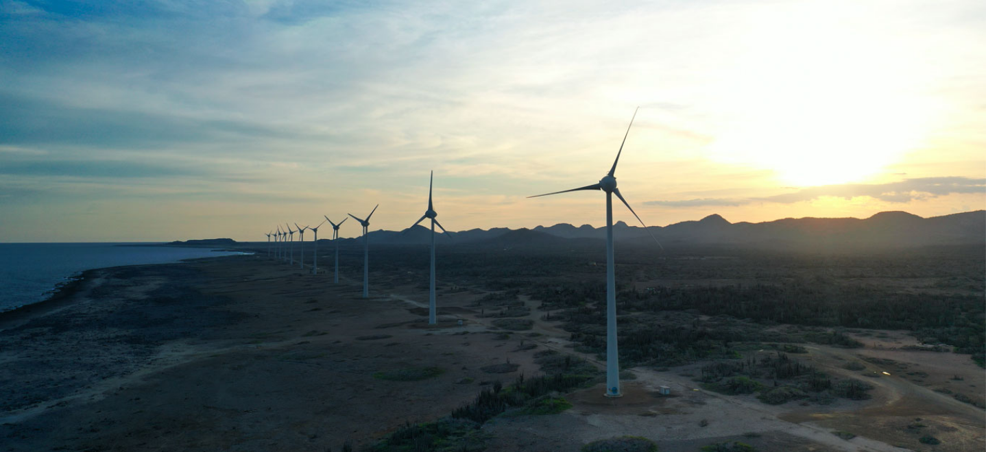 Island of Bonaire improves energy security and use of wind power